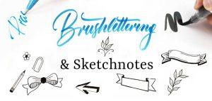 Robert Bree - Brushlettering & Skretchnotes @ Kreativhuhn Frankfurt