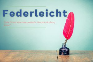 02-02 Federleicht Kurzgeschichten - Schreibwerkstatt MODUL 1 @ Kreativ Huhn