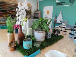 04-09-21 Upcycling Workshop @ Kreativ Huhn
